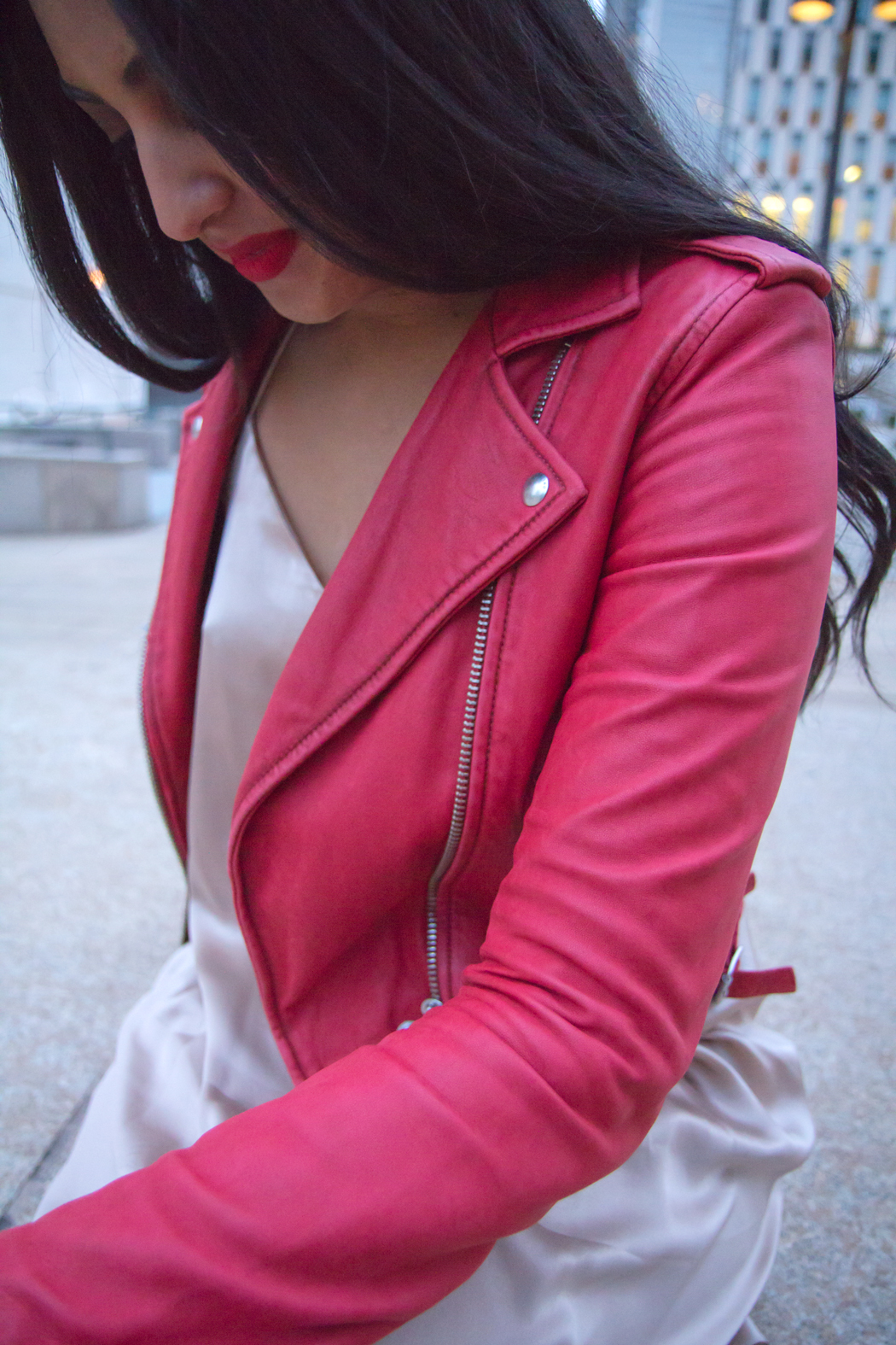 lauren-ashley-red-iro-jacket