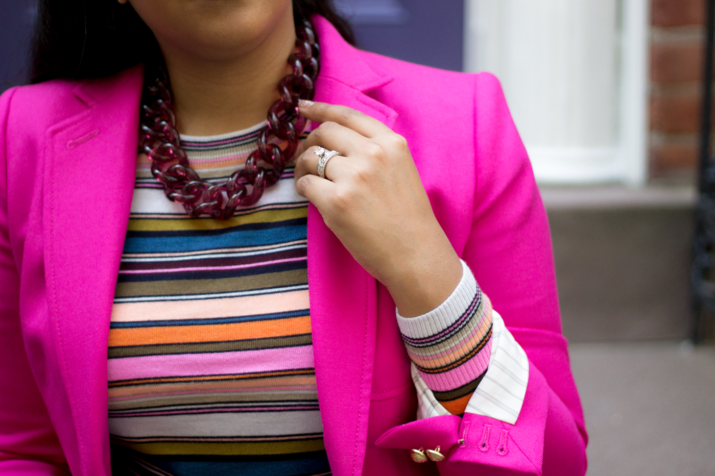 A Colorful Fall With J.Crew