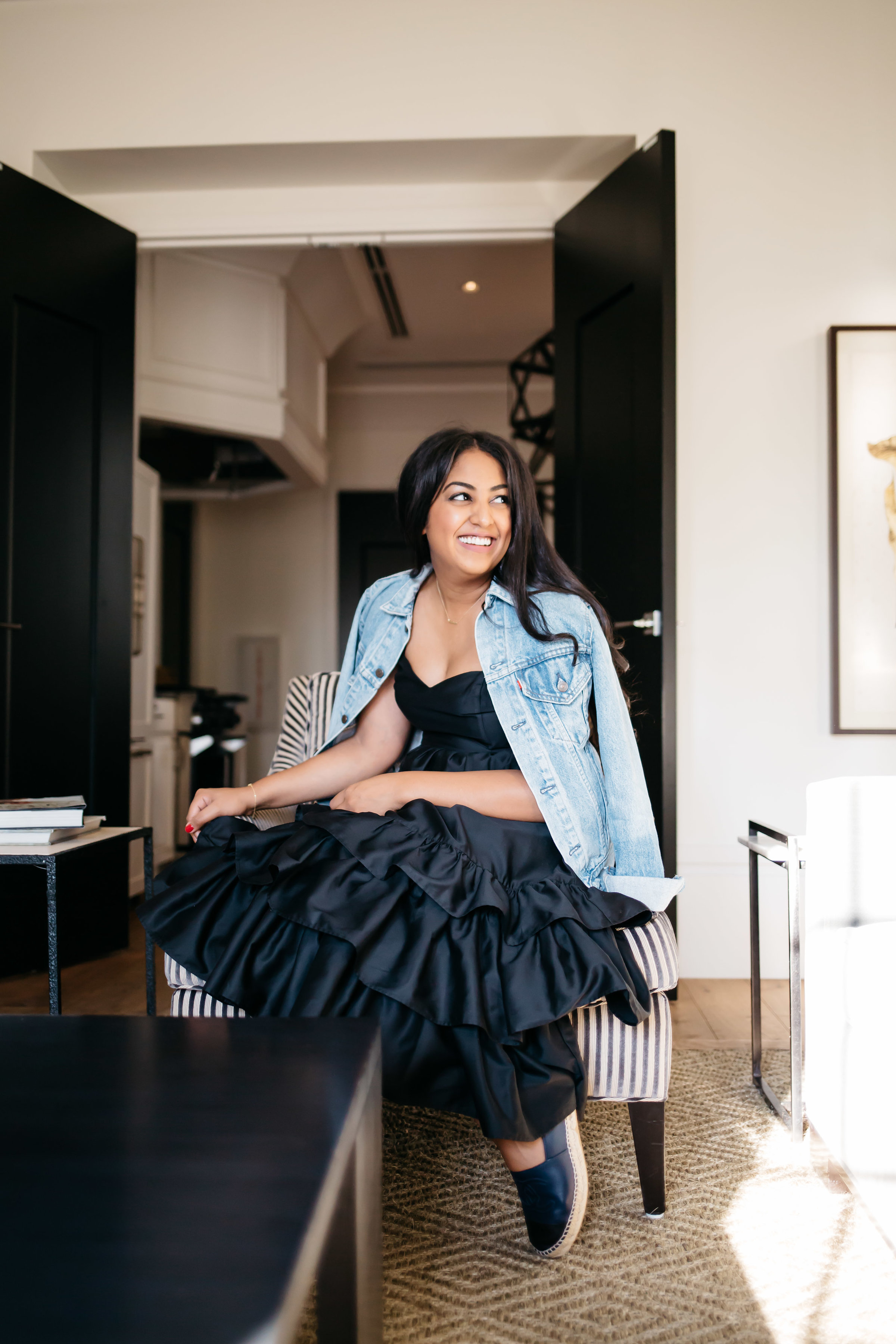 A Casual Spin on Ruffles