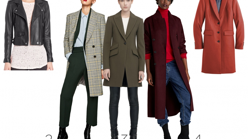 5 Coats You Need This Season