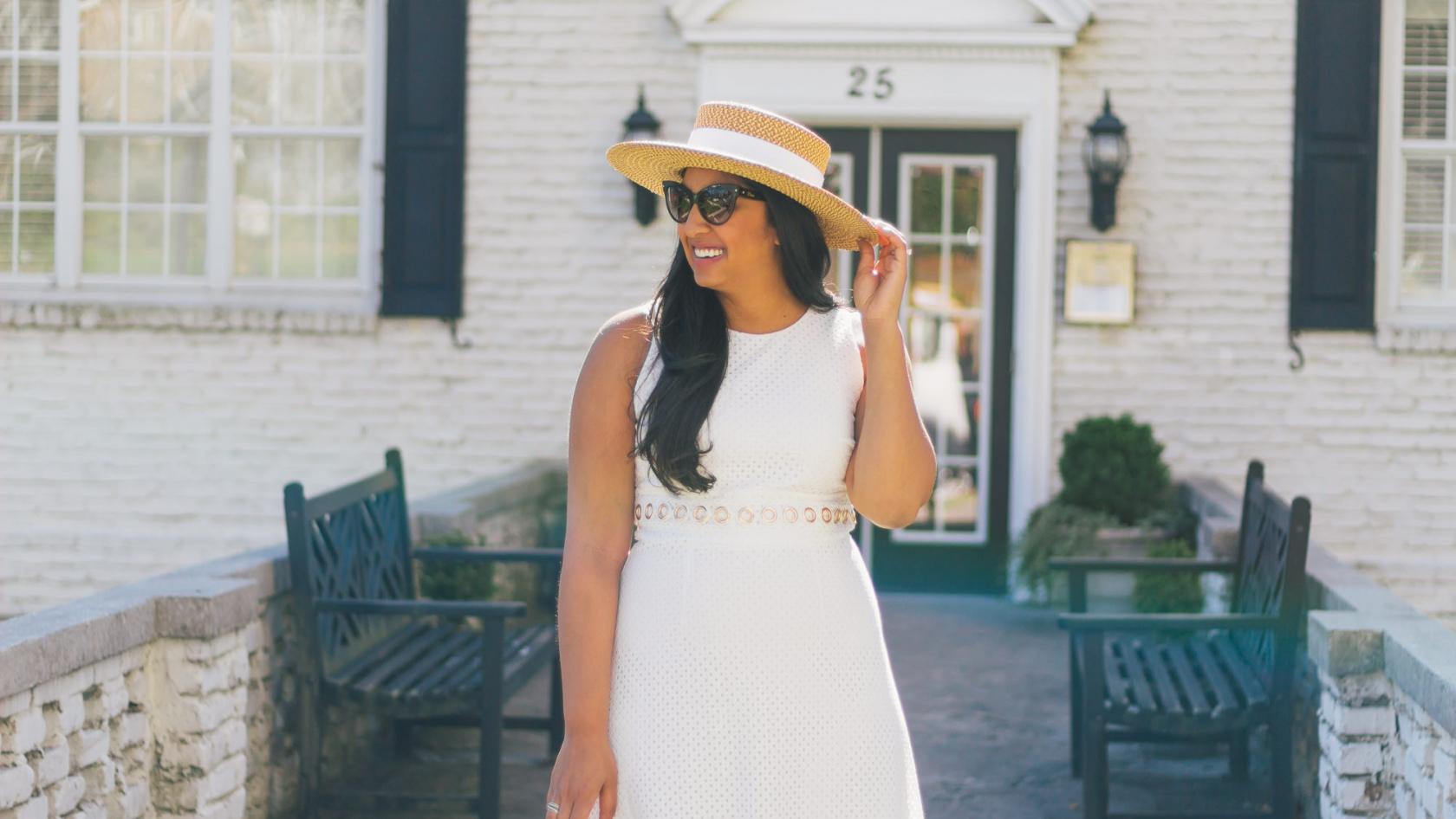 Ladylike In White
