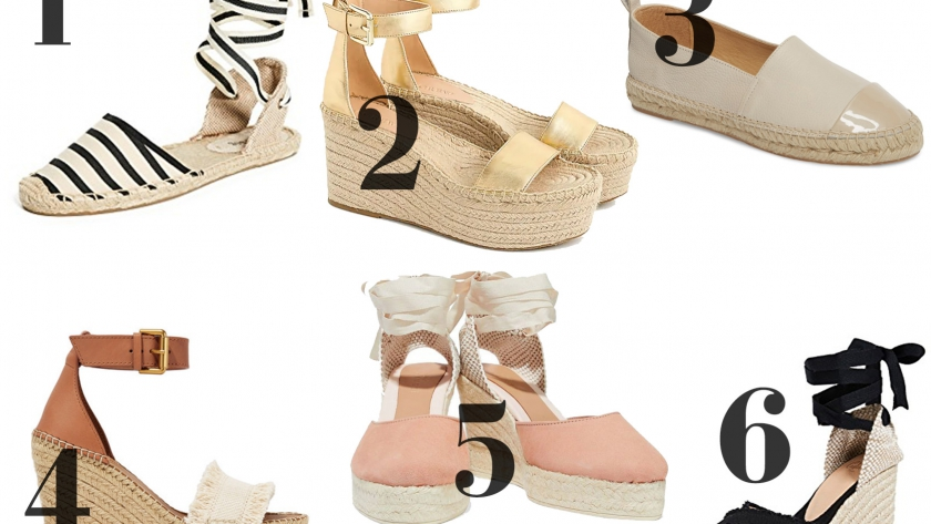 Espadrille Round-Up