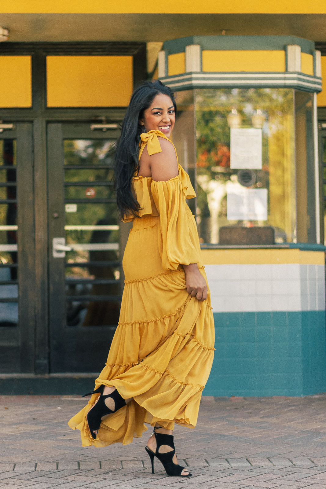 anthropologie-yellow-dress