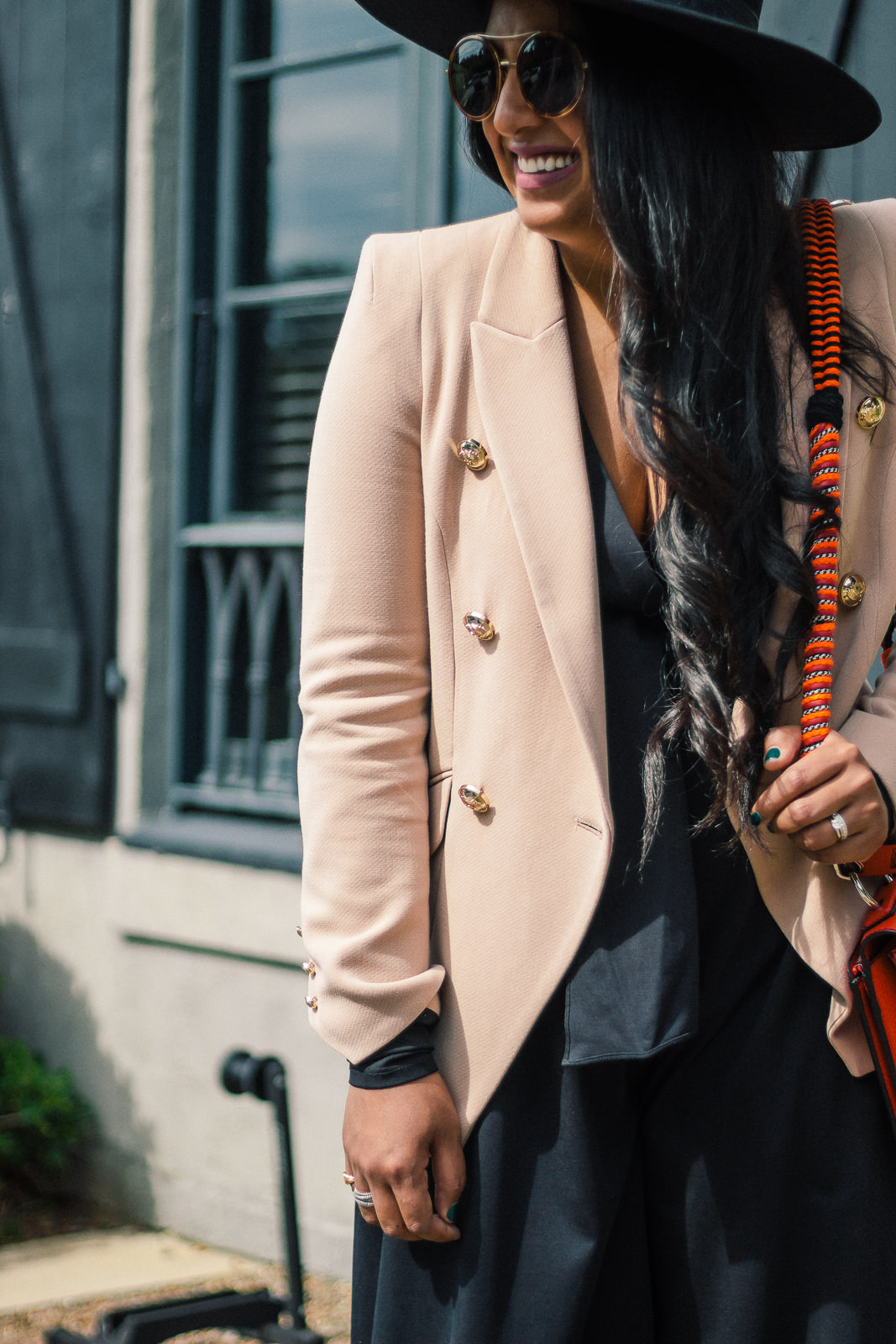 A Look For Less: Double-Breasted Blazer
