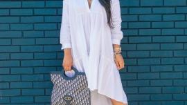 zara-long-poplin-dress-in-white
