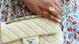 brown-paper-doll-cream-chanel-bag