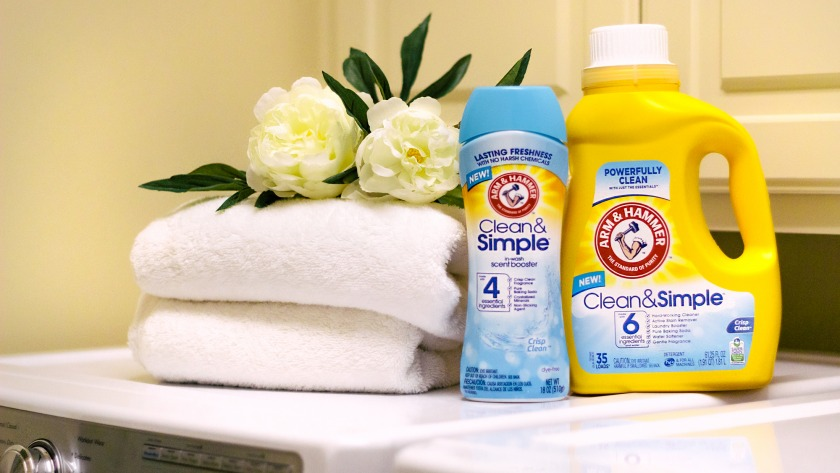 How I Keep My Clothes Cleaner and Fresher with Arm & Hammer