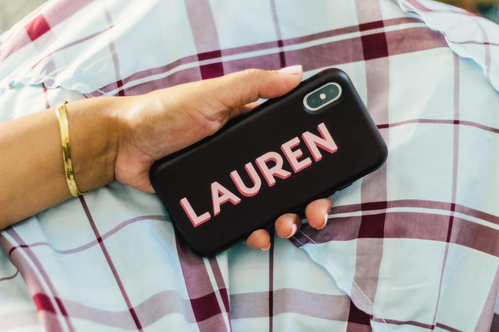 lauren-customized-iphone-case