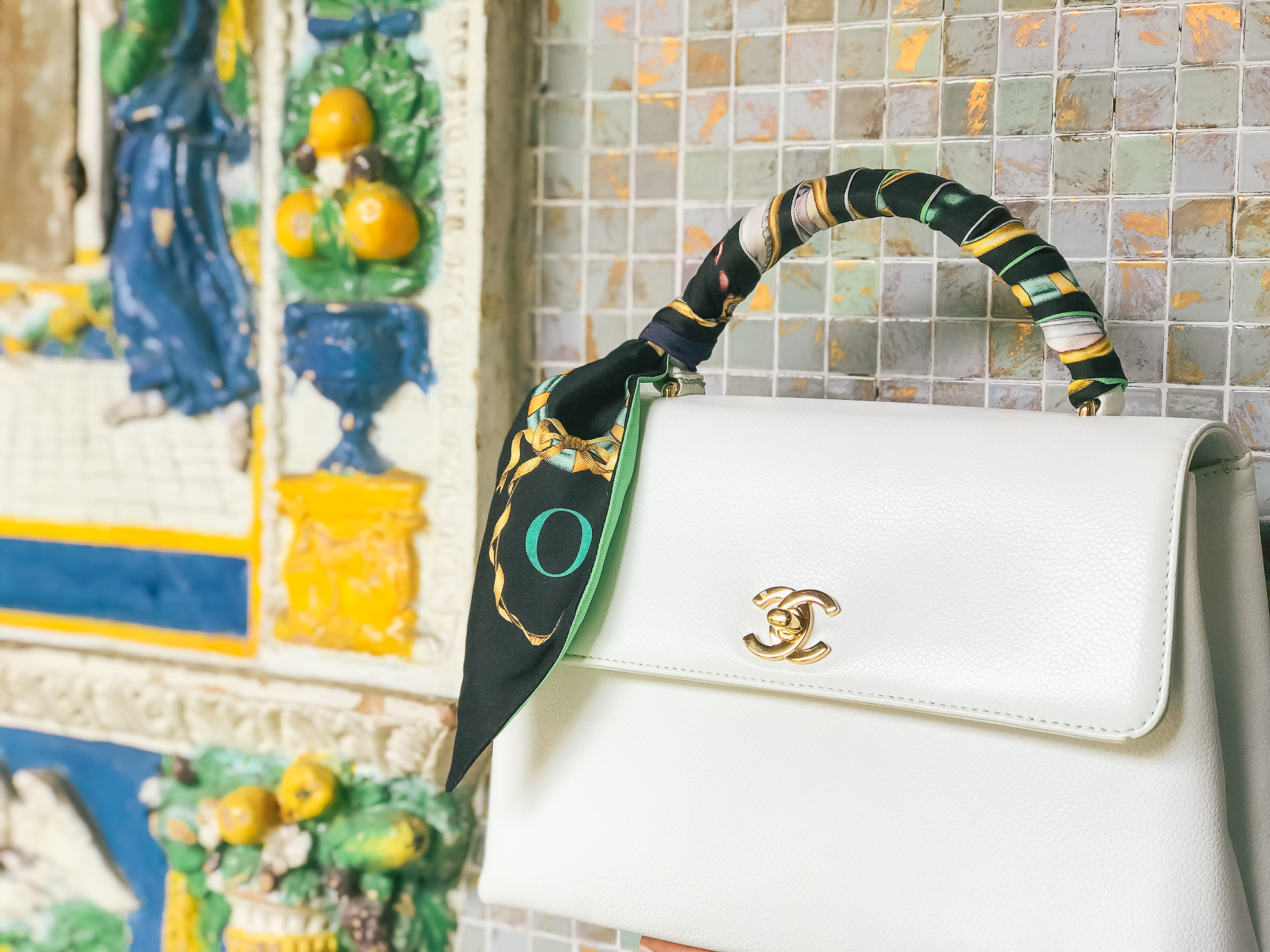 Tips for White Bags and My New Chanel